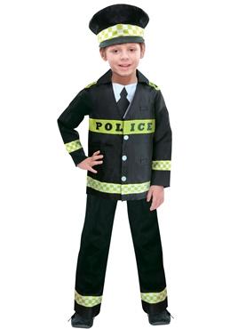 Child Policeman Costume