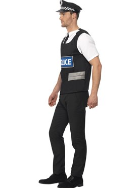 Policeman Instant Kit - Back View