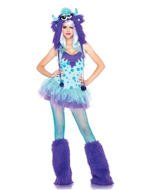 Adult Polka Dotty Costume