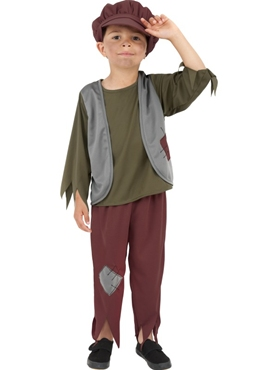 Child Poor Victorian Boy Costume
