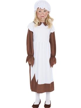 Child Victorian Poor Girl Costume