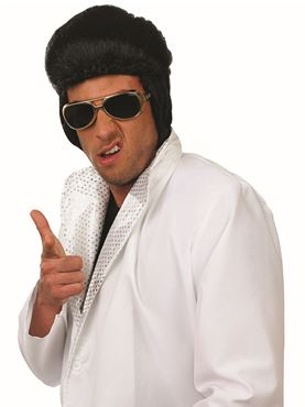Adult Pop King Elvis Wig