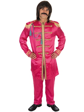 Pop Sergeant Pink Costume