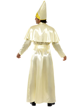 Adult Pope Costume - Back View