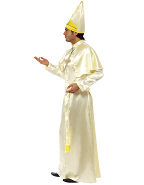 Adult Pope Costume - Side View