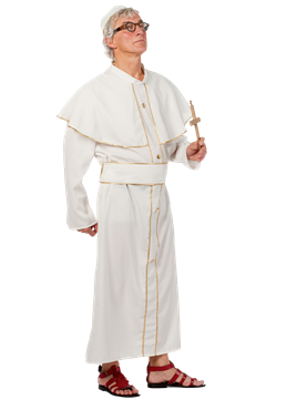 Adult Pope Costume Couples Costume