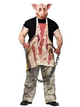 Adult Butcher Pig Costume