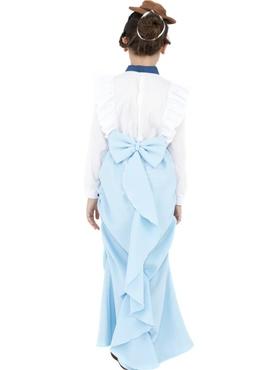 Child Posh Victorian Girl Costume - Side View