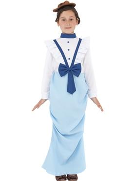 Child Posh Victorian Girl Costume
