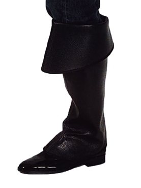 Premium Pirate Black Boot Covers