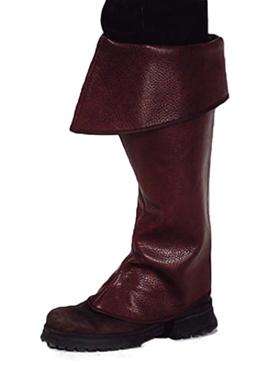 Premium Pirate Brown Boot Covers