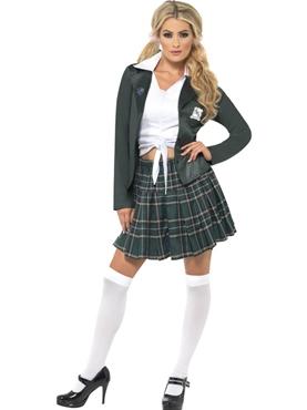 Adult Preppy Schoolgirl Costume