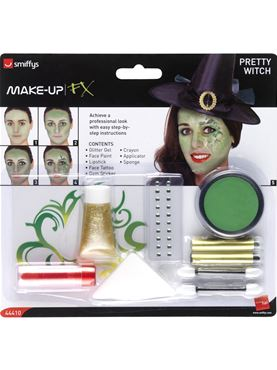 Pretty Witch Make Up Kit - Side View