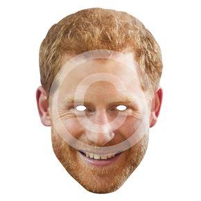 Prince Harry Card Mask
