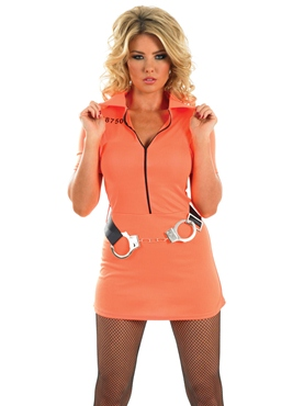 Adult Prisoner Girl Costume Thumbnail
