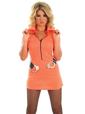 Adult Prisoner Girl Costume