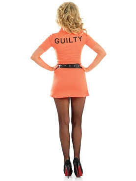 Adult Prisoner Girl Costume - Side View