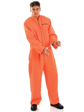 Adult Prisoner Male Costume Thumbnail