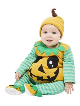 Pumpkin Baby Costume - Back View