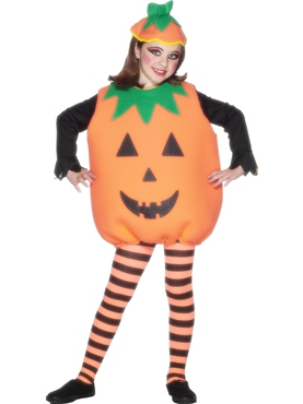 Child Pumpkin Childrens Costume