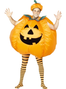Inflatable Pumpkin Costume Thumbnail