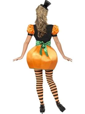 Adult Pumpkin Costume - Back View