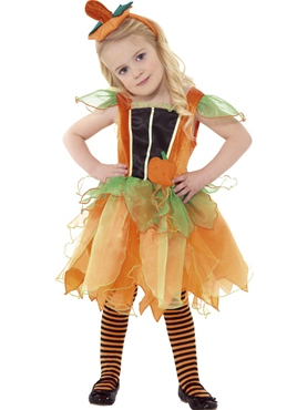 Child Pumpkin Fairy Costume