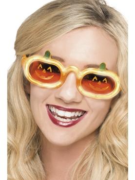 Pumpkin Light Up Specs