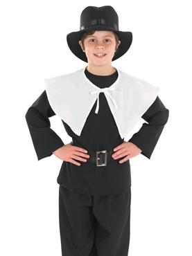 Child Puritan Boy Costume