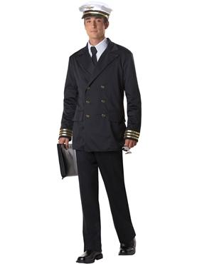 Adult Mens Retro Pilot Costume