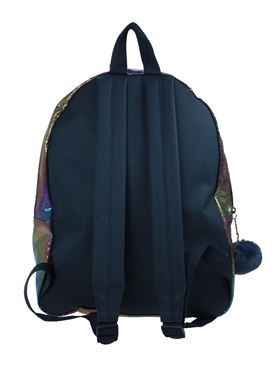 Quilted Star Backpack - Back View