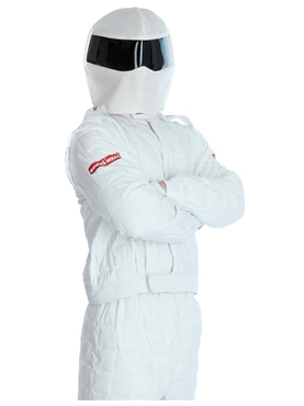 Adult Racing Driver Costume - Back View