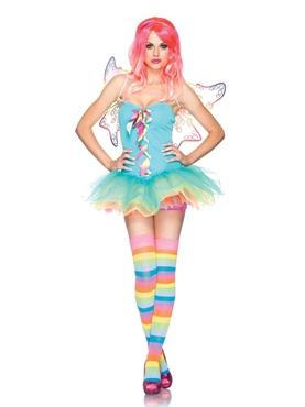 Adult Rainbow Fairy Costume