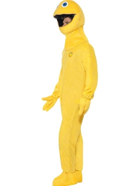 Adult Rainbow Zippy Costume - Back View