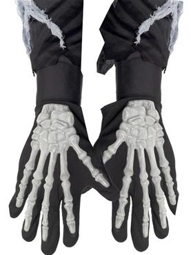 Adult Skeleton Bone Gloves