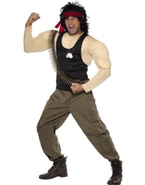 Adult Rambo Costume