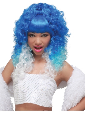 Nicki Minaj Blue Wig
