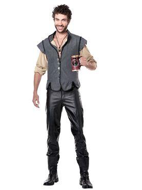 Adult Renaissance Man Costume - Back View