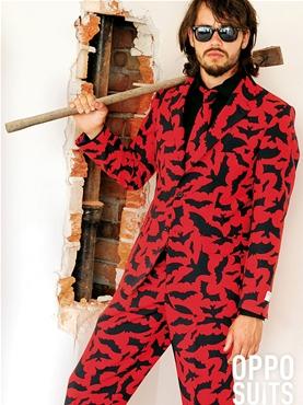 Adult Bat Guy Oppo Suit
