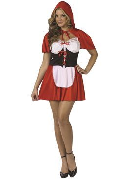 Adult Red Hot Riding Hood Costume Thumbnail