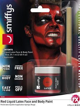 liquid latex Red