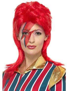 Red Space Superstar Wig