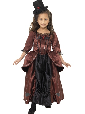 Child Red Vampiress Costume