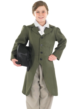 Child Regency Boy Costume - Side View