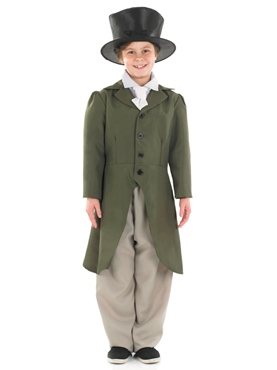 Child Regency Boy Costume