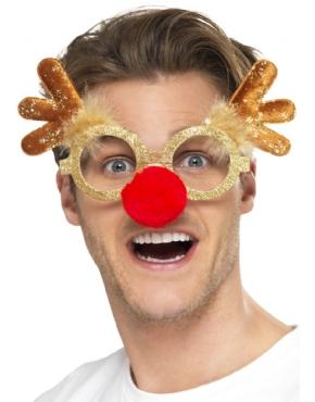 Reindeer Comedy Specs - Back View