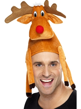 Reindeer Hat - Back View