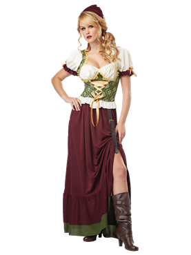 Adult Renaissance Wench Costume Couples Costume