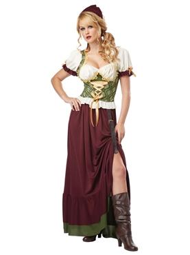 Adult Renaissance Wench Costume