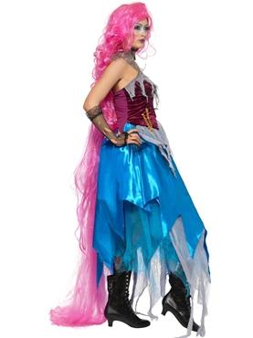 Adult Repulsive Rapunzel Costume - Back View